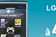 LG Secret à 49 euros au lieu de 99 euros chez Bouygues Telecoms