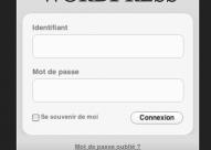 Fluency 2 : Thème d'administration pour WordPress 2.7
