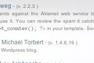 Plugins List : Listez les plugins qu'utilise votre blog.