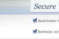 Secure WordPress : Une petite aide pour sécuriser son blog !