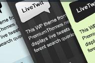 Afficher en direct certains sujets de twitter !