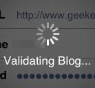 Validation WordPress iPhone