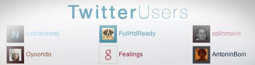 Twitter Users : Gérer le FollowFriday de Twitter depuis votre blog WordPress !