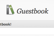Un livre d'or pour votre blog WordPress !