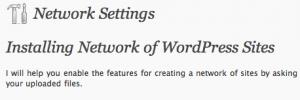 NetWork - Les nouveautés de WordPress 3.0 !