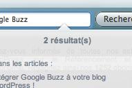 Une barre de recherche dynamique pour votre blog !