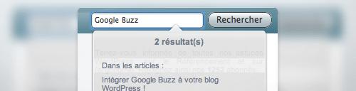 Search Light pour WordPress