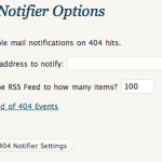 404 Notifier WordPress