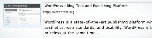WordPress Lynx