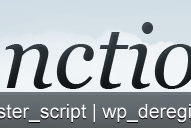 Désactiver les scripts et les styles des extensions !