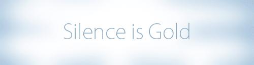 Le silence est d'or sur votre installation WordPress !