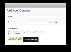 Ajouter un système de coupons (bons de réductions) à votre blog WordPress !