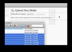 Remplacer le module d'envoi de fichiers (uploader) de WordPress