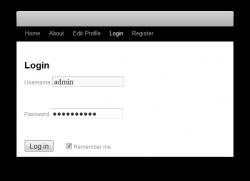 Créer une page de connexion et d'enregistrement d'utilisateurs