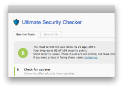 Ultimate Security Checker analyse vos paramètres de sécurité