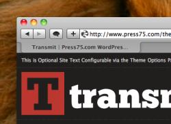 Le thème «Transmit» transforme WordPress en un agrégateur RSS