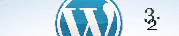 Évolutions WordPress 3.2