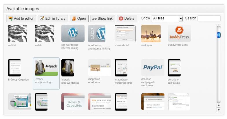 Image Pro WordPress Browser