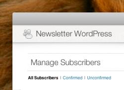 Intégrer une newsletter à votre blog WordPress pour fidéliser vos lecteurs