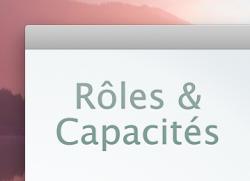 Rôles et capacités des membres de votre installation WordPress !