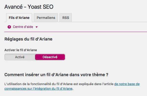 Avancé - WordPress SEO by YOAST