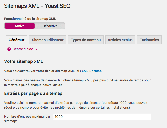 Sitemap - WordPress SEO by YOAST