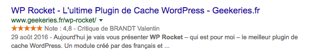 Avis de WP Rocket
