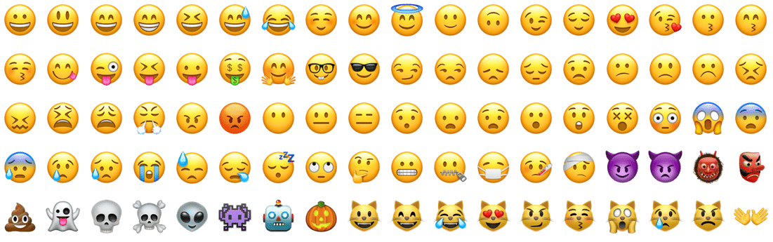 Liste d'Emojis